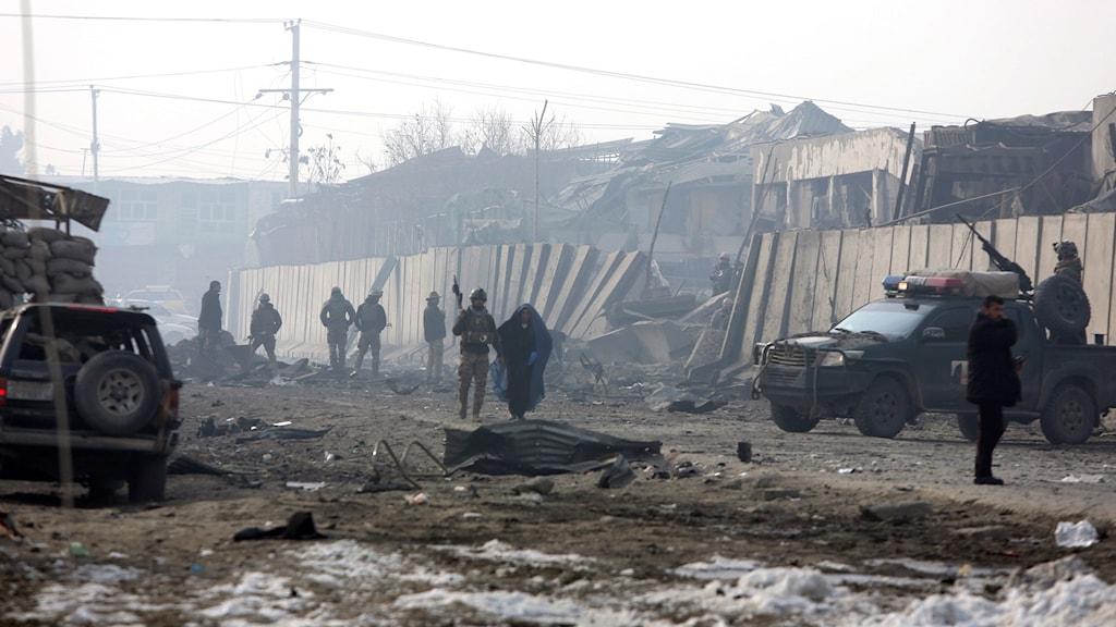 Afghanistan säkerhetsstyrkor