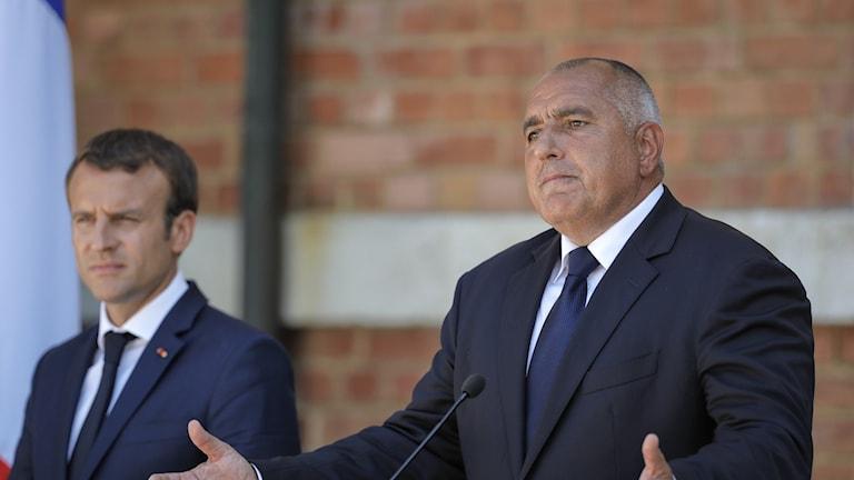 Bulgariens premiärminister Bojko Borisov.