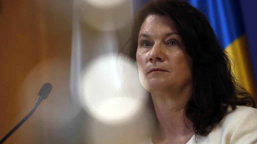 Utrikesminister Ann Linde