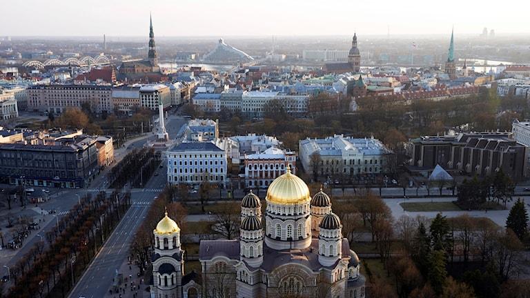 Lettlands huvudstad Riga