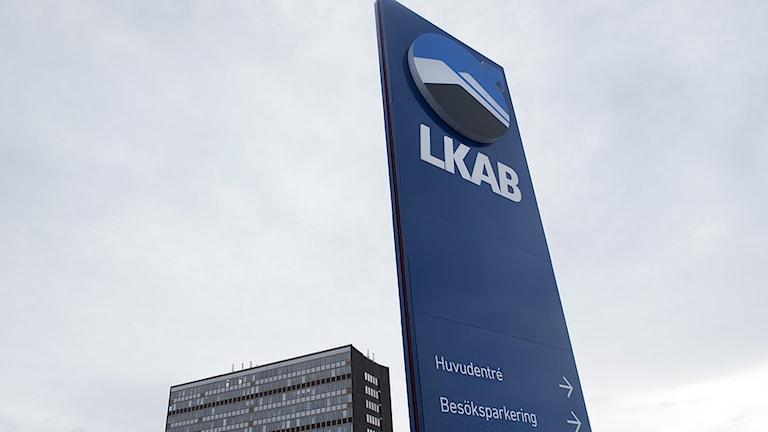 Gruvbolaget LKAB:s huvudkontor vid gruvan i Kiruna. Foto: Fredrik Sandberg / TT