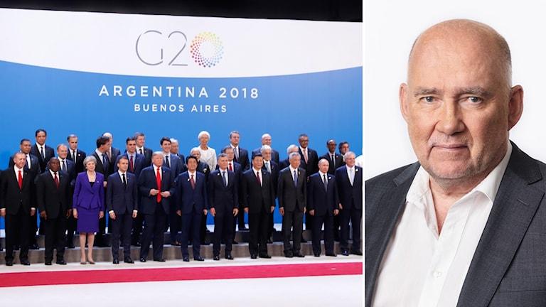 Staffan Sonning på G-20 mötet i Argentina
