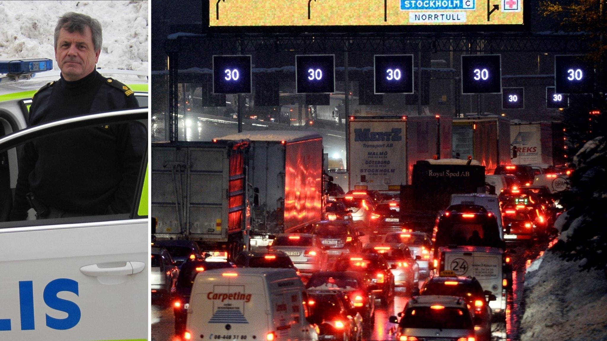 Trafikkaoset i stockholm fortsatter 1