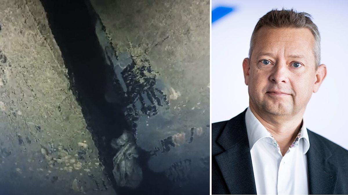 Jonas Bäckstrand, ställföreträdande generaldirektör för Statens Haverikommission.