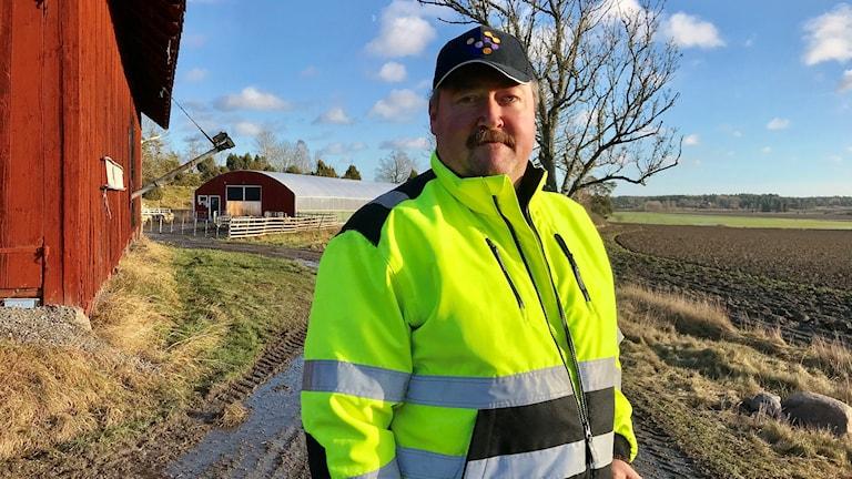 Björn Johansson, lammuppfödare, Vikbolandet.