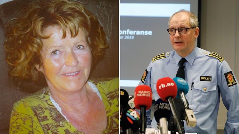 Vid en presskonferens idag bekräftade polisinspektör Tommy Brøske att Anne-Elisabeth Falkevik Hagen blivit bortförd mot sin vilja.