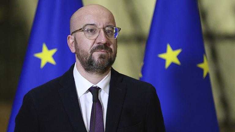Europeiska rådets ordförande Charles Michel