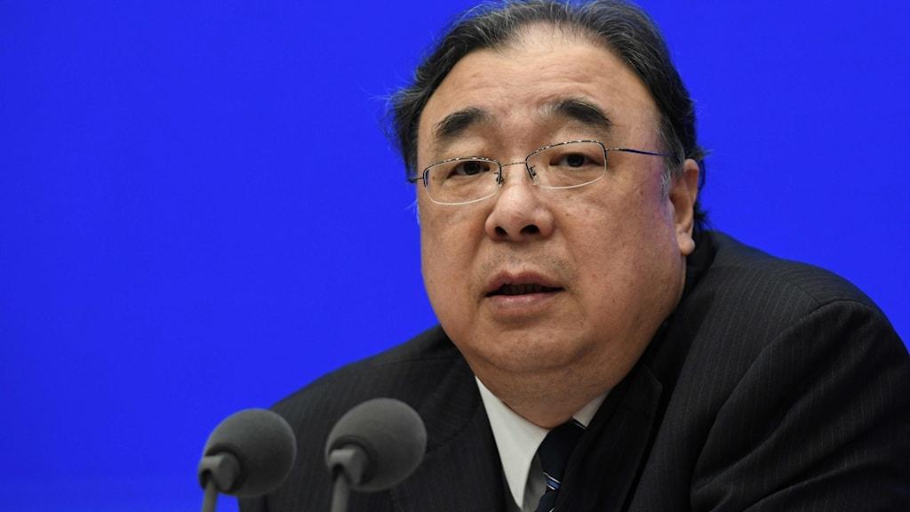 Kinas hälsominister Ma Xiaowei.