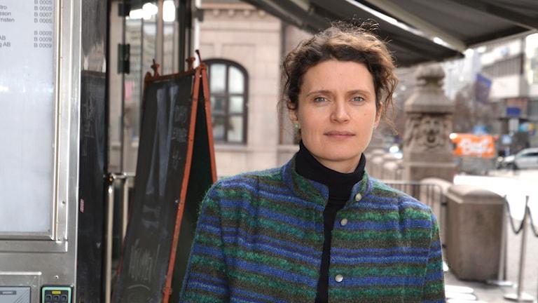 Anna Ekstedt/ expert på prostitution och människohandel vid den nationella samordningen på Länsstyrelsen i Stockholm.