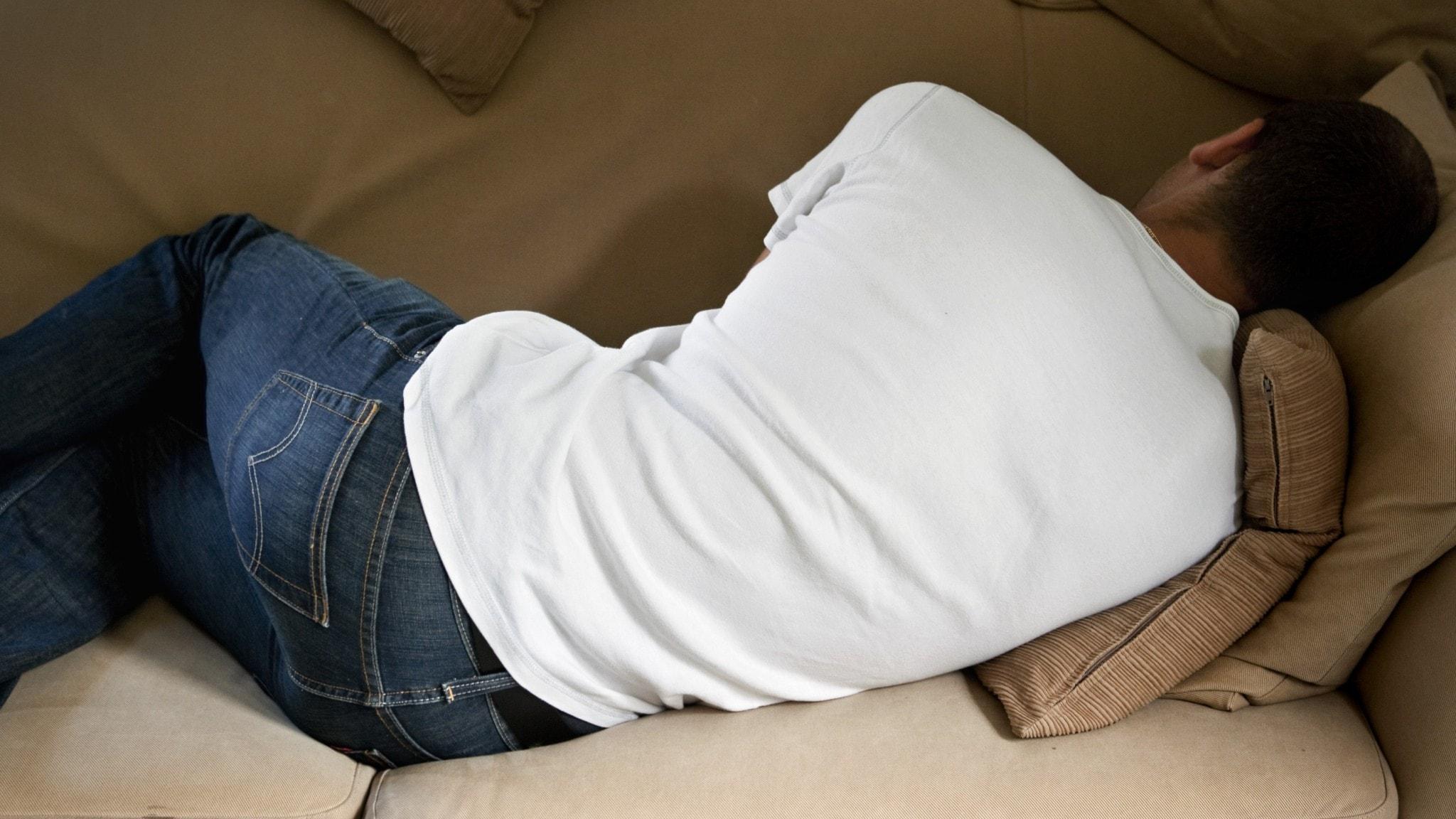 Fler män uppger att de drabbats av postcovid