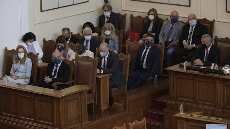 Ministrar i den bulgariska regeringen.