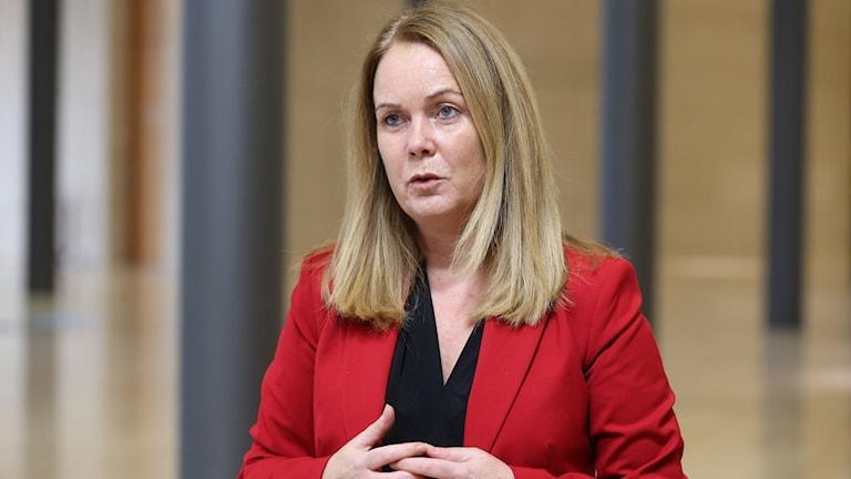Landsbygdsminister Jennie Nilsson.