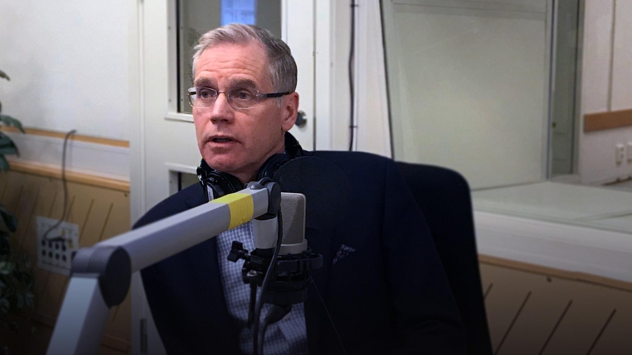 Rickard Gustafson vd för flygbolaget SAS