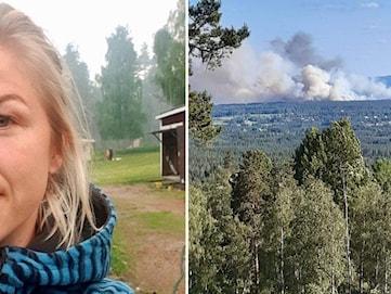 Förbättrat läge i skogsbranden vid Mora