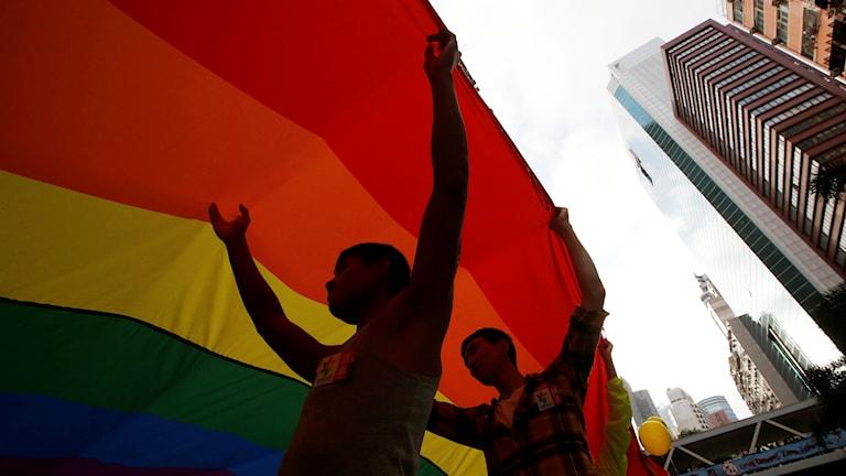 Nej till samkönade äktenskap i Taiwan.