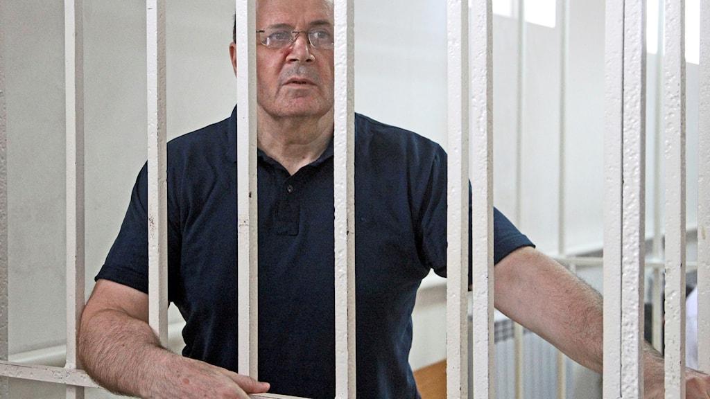 Ojub Titijev hotas av som mest tio års fängelse.