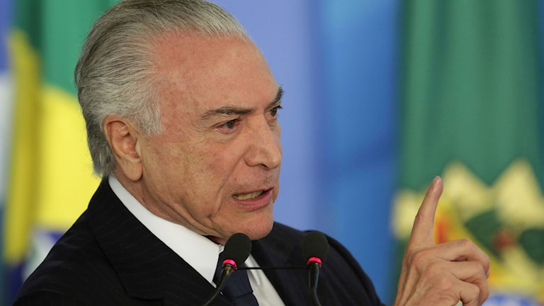 Brasilien Michel Temer.