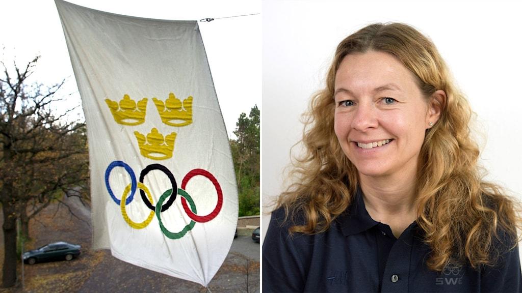 Lotta Olsson på Sveriges Olympiska Kommitté