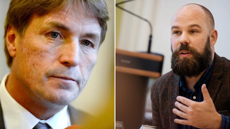 Thomas Bodström Daniel Suhonen i debatt i P1-morgon