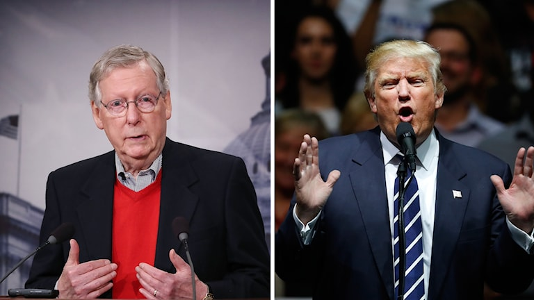 Mitch McConnell, Donald Trump