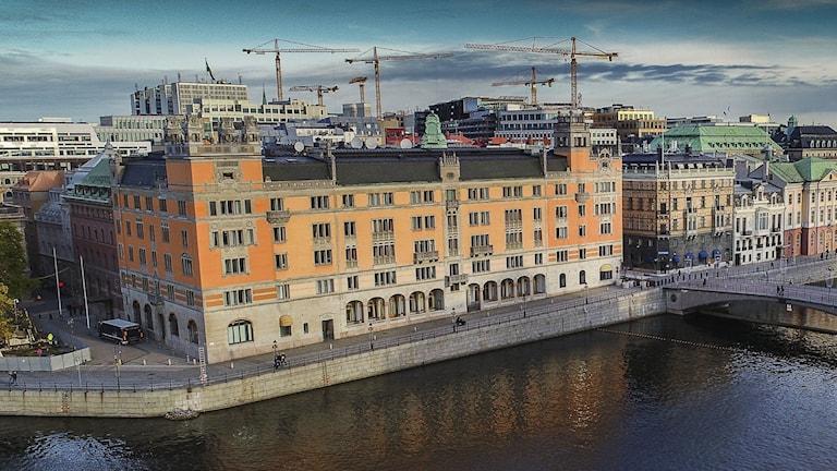Rosenbad i Stockholm.