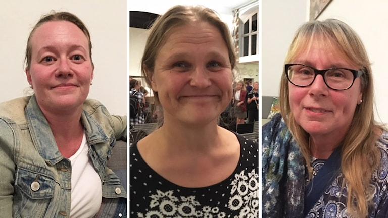 Marie Åberg, Malou Bengtsson Wheeler och Birgitta Andersson bor alla i London.