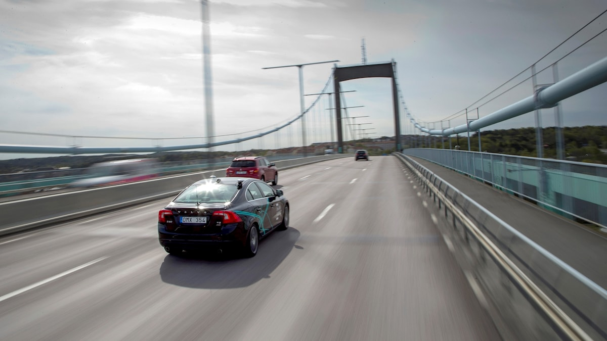 Bilar, trafik, bil, självkörande bil