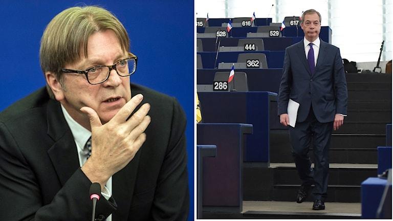 Guy Verhufstadt Nigel Farage