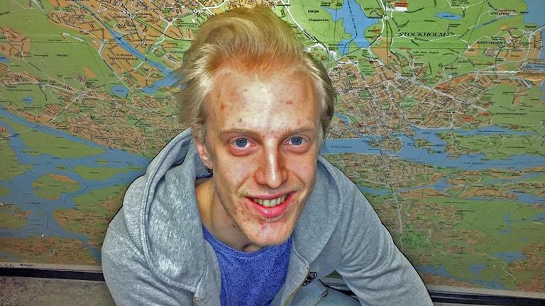 Gustaf Mardelius från duon Go royal.