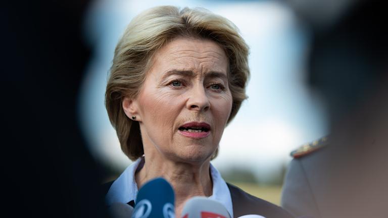 Tyska Ursula von der Leyen är ett av namnet som kan bli ordförande för EU-kommissionen.