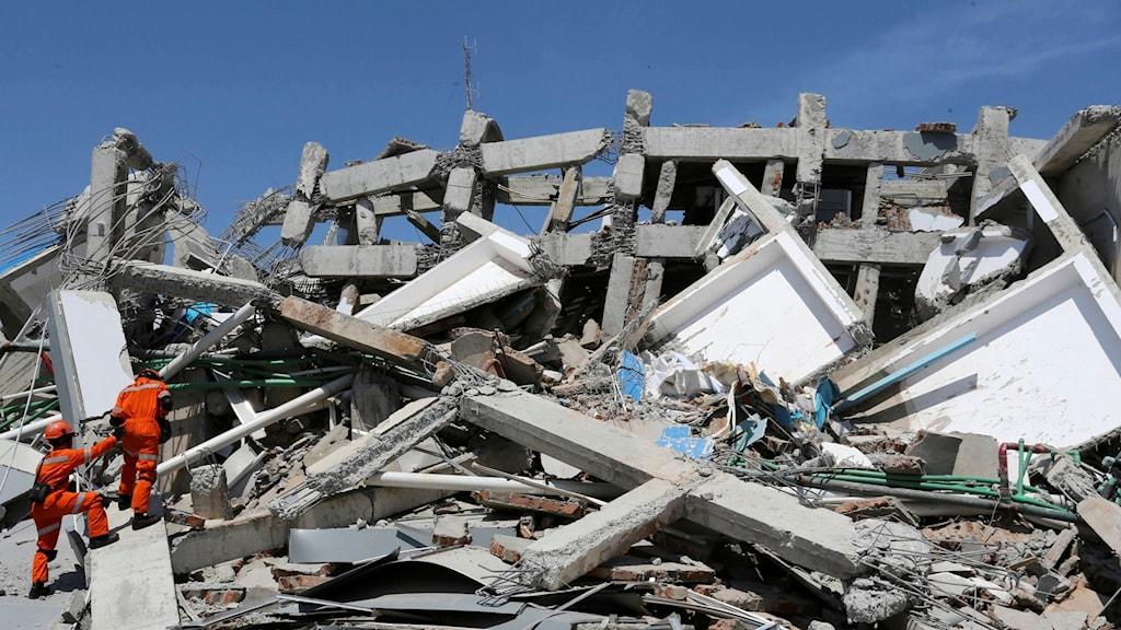 indonesien, jordskalv