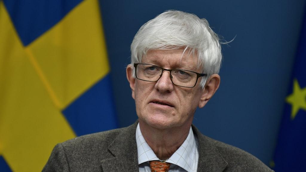Johan Carlson är generaldirektör för Folkhälsomyndigheten.