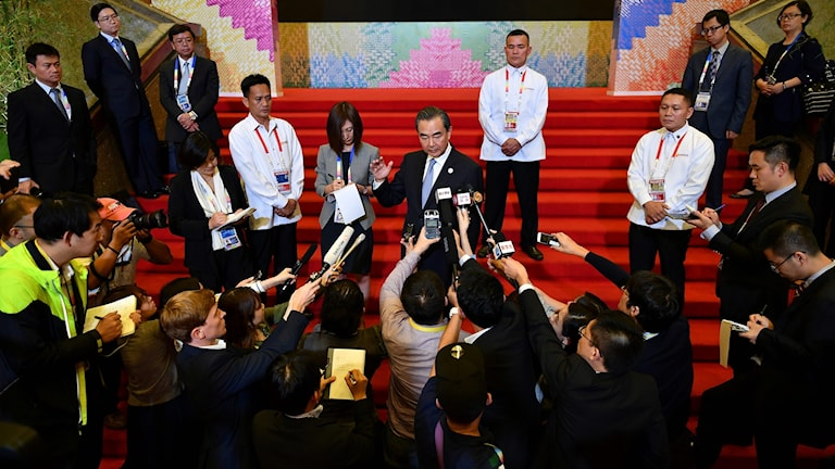Kinas utrikesminister, Wang Yi