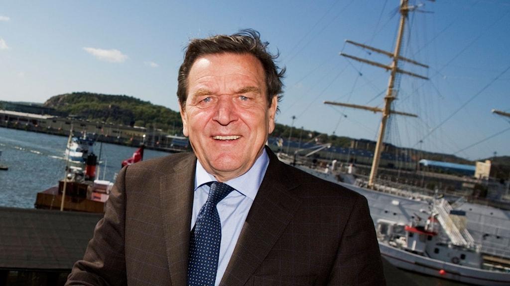 Tysklands förre förbundskansler Gerhard Schröder.