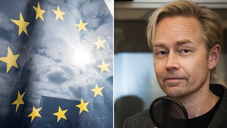 Fredrik Furtenbach, EU-flagga