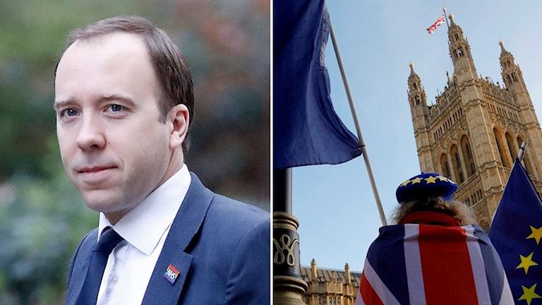 Hälsoministern Matt Hancock var tydlig med det när han förde regeringens talan på BBC sent i går kväll.