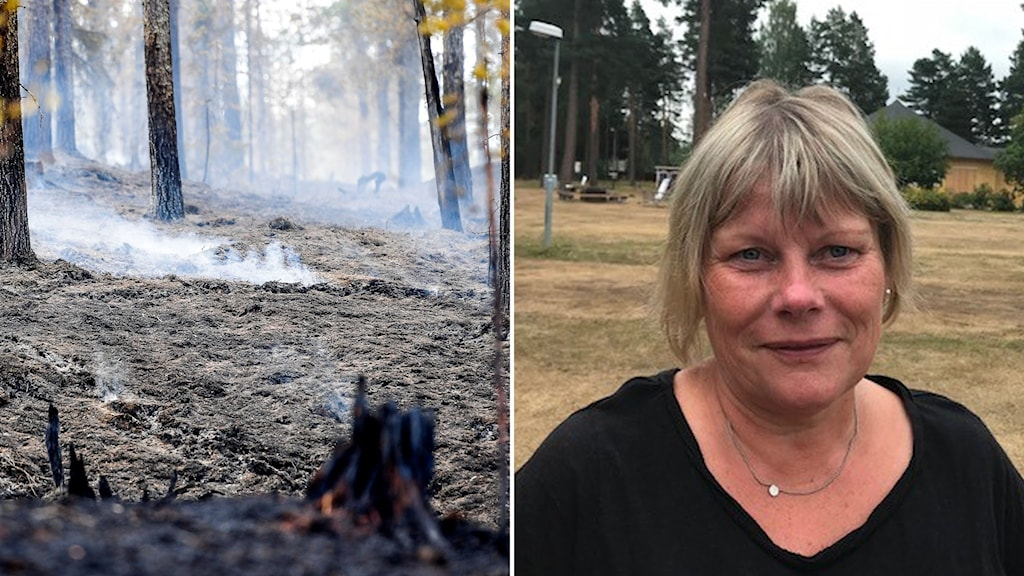 Ljusdal, evakuerad, bränder, annelie åkerblom