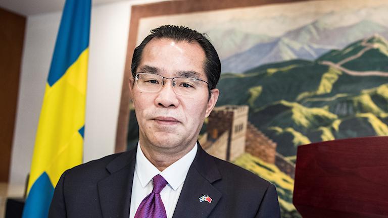 Kinas Sverigeambassadör Gui Congyou.