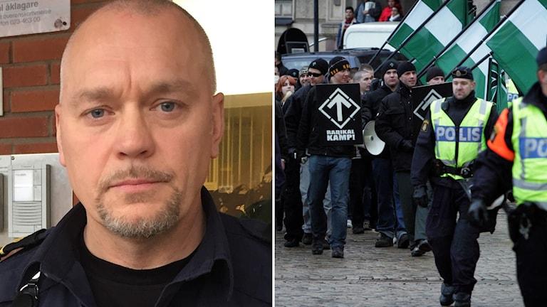 Thomas Hellgren, chef för polisens underrättelsesektion i Dalarna.