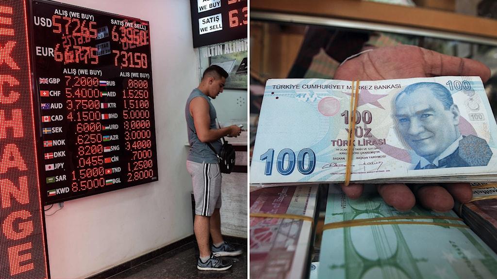 turkiet, lira, växling, ekonomi
