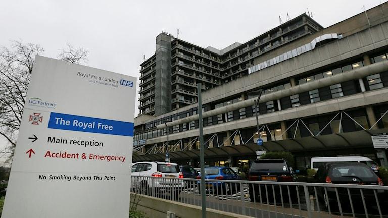 Sjukhus i Storbritannien.