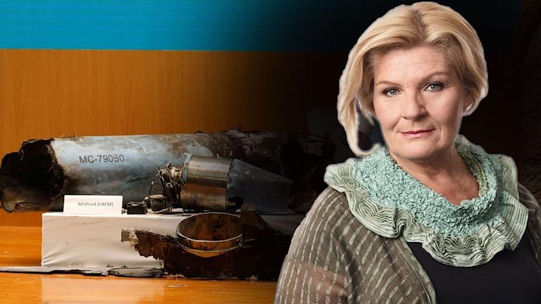 Ekots Mellanösternkorrespondent Cecilia Uddèn.