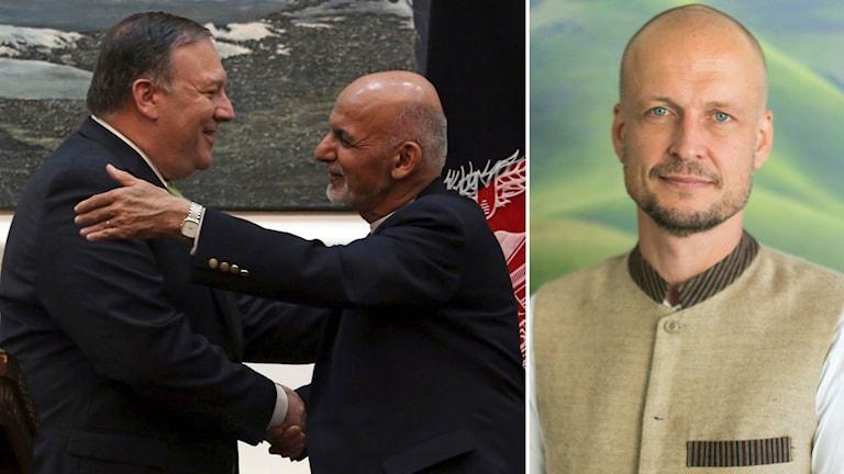 Svenska Afghanistankommitténs generalsekreterare Andreas Stefansson