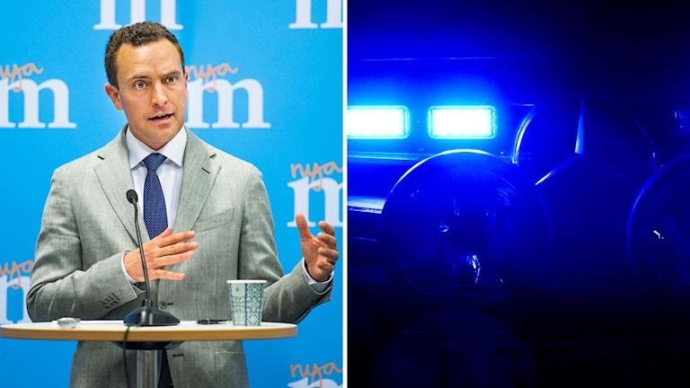 Moderaternas partisekreterare Tomas Tobé inledde partiets Sverigemöte på Malmömässan i Malmö.