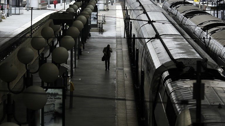 Tågstationen Gare du Nord