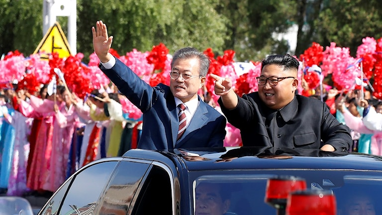 Nordkorea, Sydkorea, avtal, Moon Jae-In, Kim Jong-Un