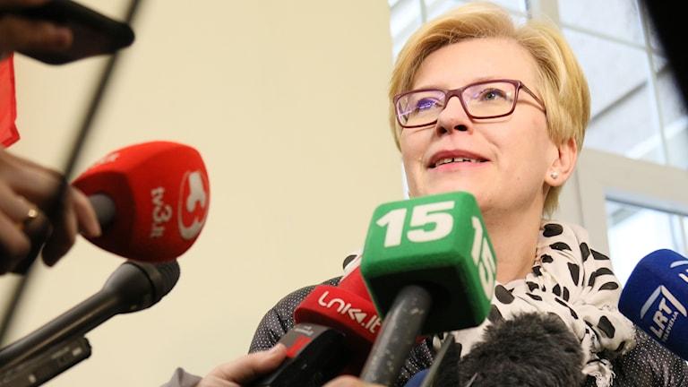 Ingrida Simonyte, presidentkandidat