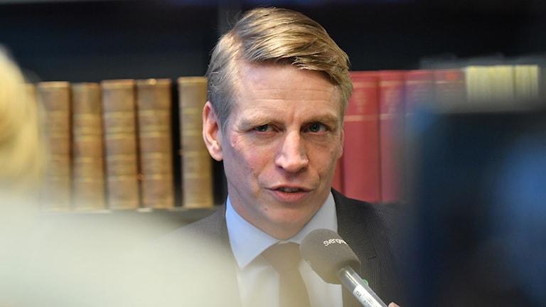 inansmarknads- och konsumentminister Per Bolund (MP)