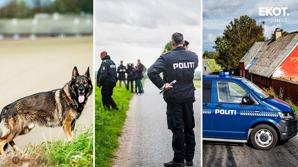 nyhetskort danska polisens insats