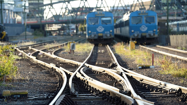 Järnväg, tåg